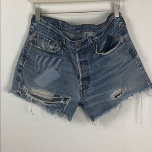 VTG Levi's Urban Renewal High Waisted Jean Shorts